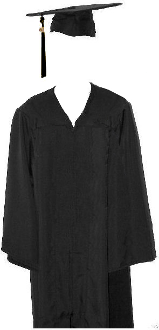 Adult Ed Cap & Gown